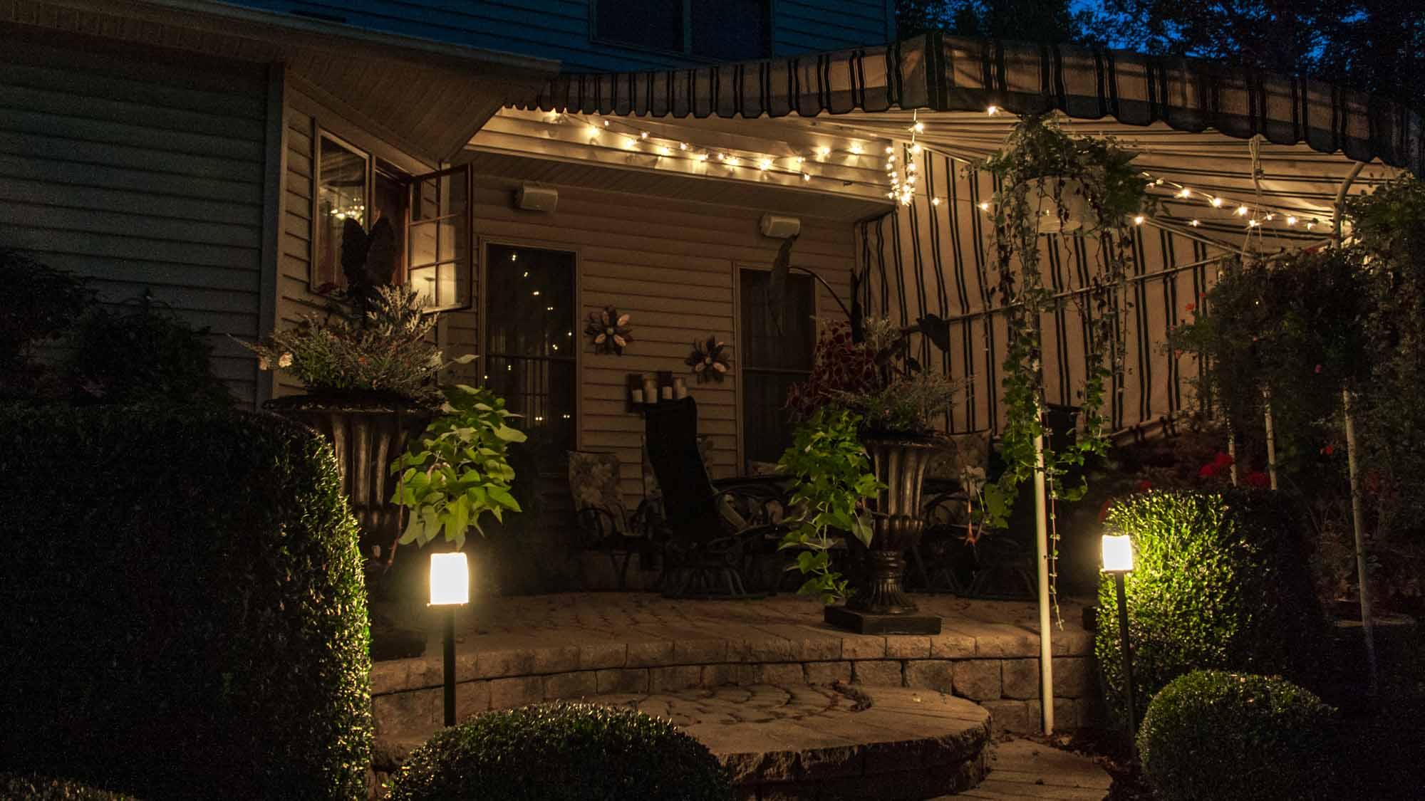 Patio Lighting Luminated Landscapes
